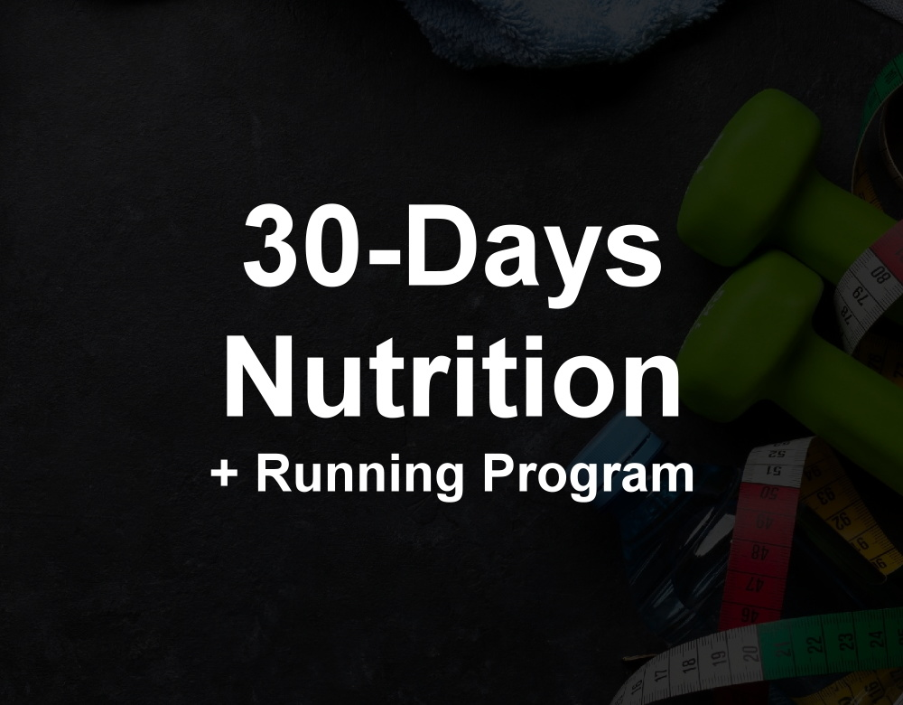 30-Days Nutrition + Running Program